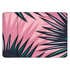 Graciela Detail Petticoat Palm Pink Green Samsung Galaxy Tab 8 9  P7300 Flip Case by Mariart