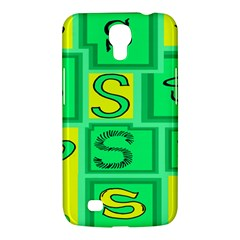 Letter Huruf S Sign Green Yellow Samsung Galaxy Mega 6 3  I9200 Hardshell Case by Mariart