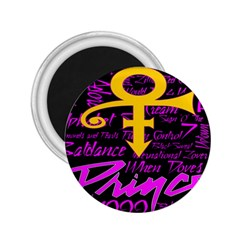 Prince Poster 2 25  Magnets by Onesevenart