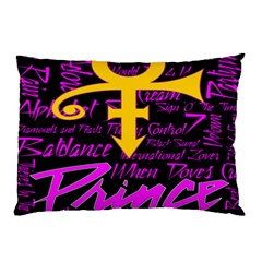 Prince Poster Pillow Case by Onesevenart