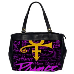Prince Poster Office Handbags by Onesevenart