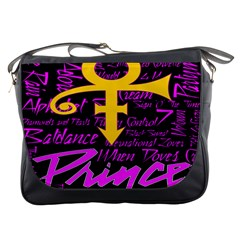 Prince Poster Messenger Bags by Onesevenart