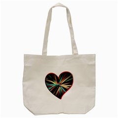 Above & Beyond Tote Bag (cream) by Onesevenart