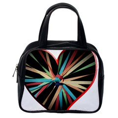 Above & Beyond Classic Handbags (one Side) by Onesevenart