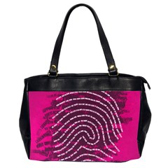 Above & Beyond Sticky Fingers Office Handbags (2 Sides)  by Onesevenart