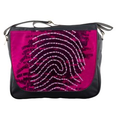Above & Beyond Sticky Fingers Messenger Bags by Onesevenart