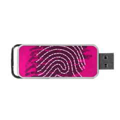 Above & Beyond Sticky Fingers Portable Usb Flash (one Side) by Onesevenart