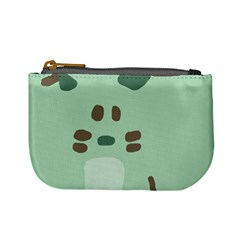 Lineless Background For Minty Wildlife Monster Mini Coin Purses by Mariart