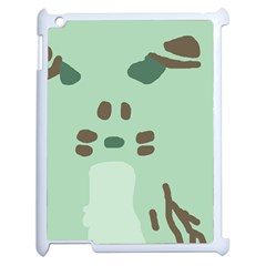 Lineless Background For Minty Wildlife Monster Apple Ipad 2 Case (white) by Mariart