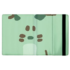 Lineless Background For Minty Wildlife Monster Apple Ipad 3/4 Flip Case by Mariart