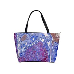 Histology Inc Histo Logistics Incorporated Human Liver Rhodanine Stain Copper Shoulder Handbags by Mariart