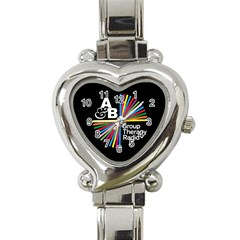 Above & Beyond  Group Therapy Radio Heart Italian Charm Watch by Onesevenart
