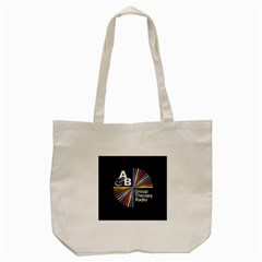 Above & Beyond  Group Therapy Radio Tote Bag (cream) by Onesevenart