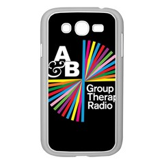 Above & Beyond  Group Therapy Radio Samsung Galaxy Grand Duos I9082 Case (white) by Onesevenart