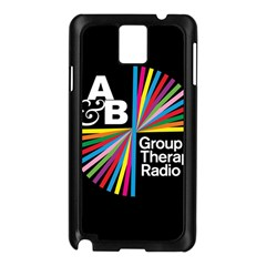 Above & Beyond  Group Therapy Radio Samsung Galaxy Note 3 N9005 Case (black) by Onesevenart