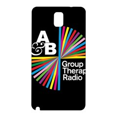Above & Beyond  Group Therapy Radio Samsung Galaxy Note 3 N9005 Hardshell Back Case by Onesevenart