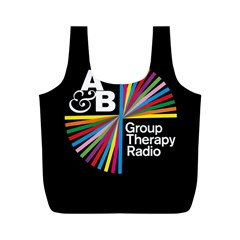 Above & Beyond  Group Therapy Radio Full Print Recycle Bags (m)  by Onesevenart