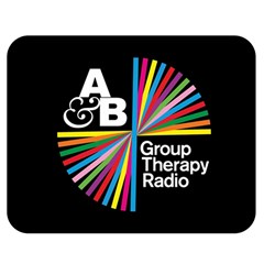 Above & Beyond  Group Therapy Radio Double Sided Flano Blanket (medium)  by Onesevenart