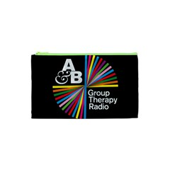Above & Beyond  Group Therapy Radio Cosmetic Bag (xs) by Onesevenart