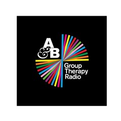 Above & Beyond  Group Therapy Radio Small Satin Scarf (square) by Onesevenart