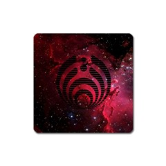 Bassnectar Galaxy Nebula Square Magnet by Onesevenart