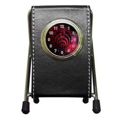 Bassnectar Galaxy Nebula Pen Holder Desk Clocks by Onesevenart