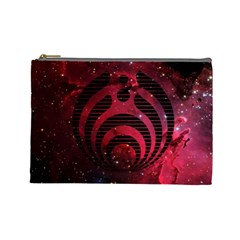 Bassnectar Galaxy Nebula Cosmetic Bag (large)  by Onesevenart