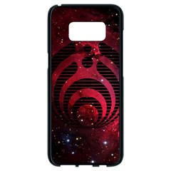 Bassnectar Galaxy Nebula Samsung Galaxy S8 Black Seamless Case by Onesevenart