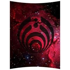 Bassnectar Galaxy Nebula Back Support Cushion by Onesevenart