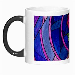 Enchanted Rose Stained Glass Morph Mugs by Onesevenart