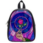 Enchanted Rose Stained Glass School Bag (Small)