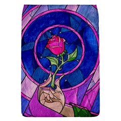 Enchanted Rose Stained Glass Flap Covers (s)  by Onesevenart