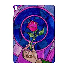 Enchanted Rose Stained Glass Apple Ipad Pro 10 5   Hardshell Case by Onesevenart