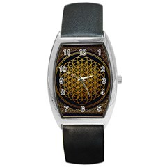 Bring Me The Horizon Cover Album Gold Barrel Style Metal Watch by Onesevenart