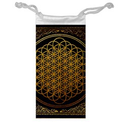 Bring Me The Horizon Cover Album Gold Jewelry Bag by Onesevenart