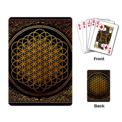 Bring Me The Horizon Cover Album Gold Playing Card by Onesevenart