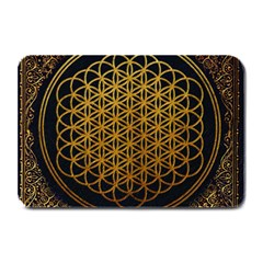 Bring Me The Horizon Cover Album Gold Plate Mats by Onesevenart