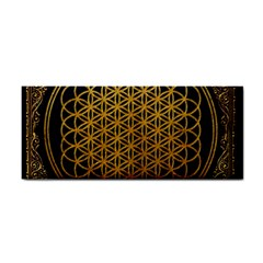 Bring Me The Horizon Cover Album Gold Cosmetic Storage Cases by Onesevenart