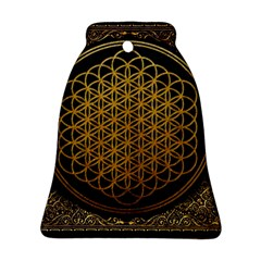 Bring Me The Horizon Cover Album Gold Ornament (bell) by Onesevenart
