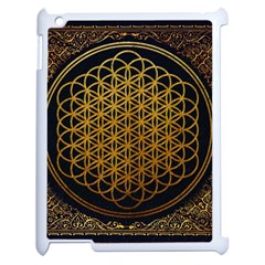 Bring Me The Horizon Cover Album Gold Apple Ipad 2 Case (white) by Onesevenart