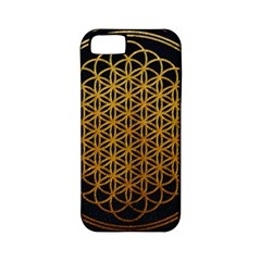 Bring Me The Horizon Cover Album Gold Apple Iphone 5 Classic Hardshell Case (pc+silicone) by Onesevenart