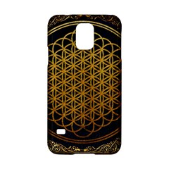 Bring Me The Horizon Cover Album Gold Samsung Galaxy S5 Hardshell Case  by Onesevenart