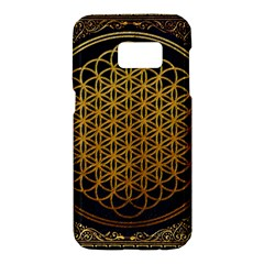 Bring Me The Horizon Cover Album Gold Samsung Galaxy S7 Hardshell Case  by Onesevenart