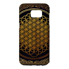 Bring Me The Horizon Cover Album Gold Samsung Galaxy S7 Edge Hardshell Case by Onesevenart