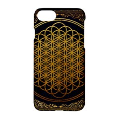 Bring Me The Horizon Cover Album Gold Apple Iphone 7 Hardshell Case by Onesevenart