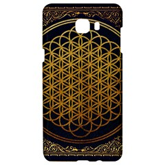 Bring Me The Horizon Cover Album Gold Samsung C9 Pro Hardshell Case  by Onesevenart