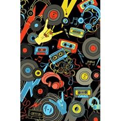 Music Pattern 5 5  X 8 5  Notebooks by Onesevenart