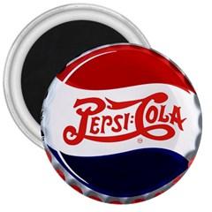 Pepsi Cola 3  Magnets by Onesevenart