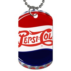 Pepsi Cola Dog Tag (two Sides) by Onesevenart