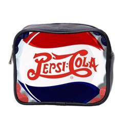 Pepsi Cola Mini Toiletries Bag 2 Side by Onesevenart
